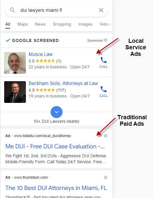 Traditional Paid Ad Demo